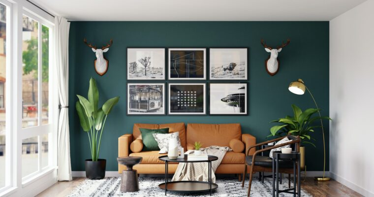 Decorate your Living Room Inspired by Nature